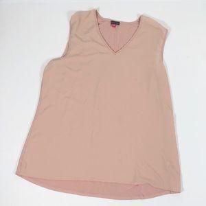 Vince Camuto Light Pink Blouse Sleeveless Size XL